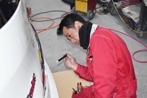 板金塗装チェック