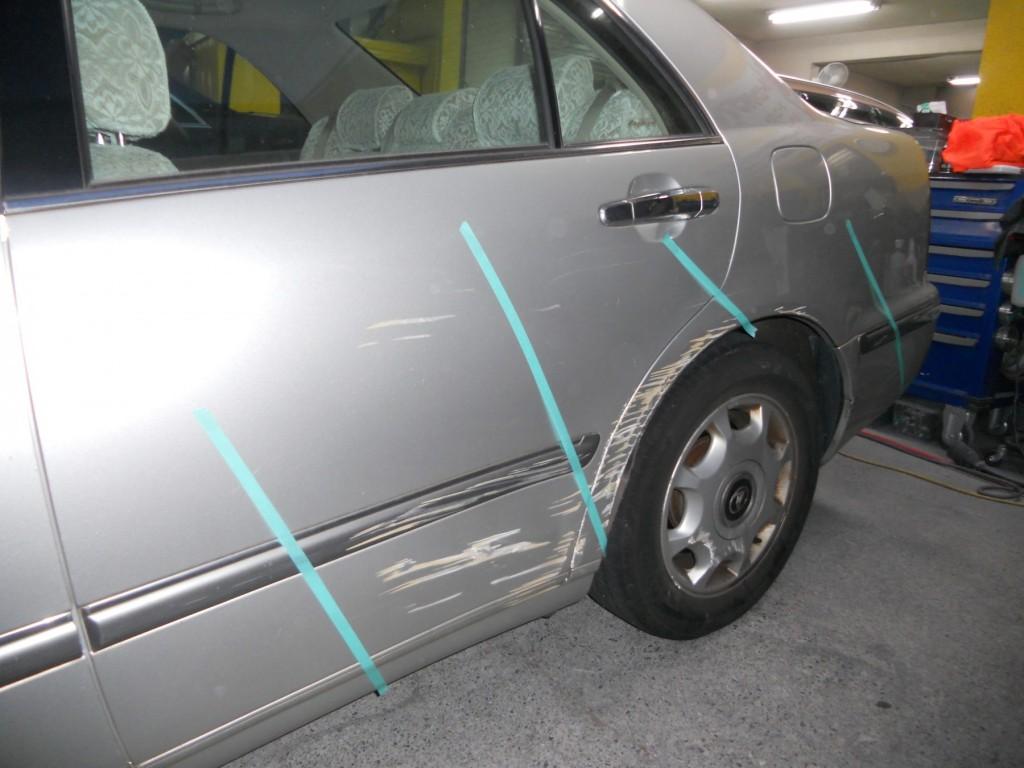 自動車の損傷