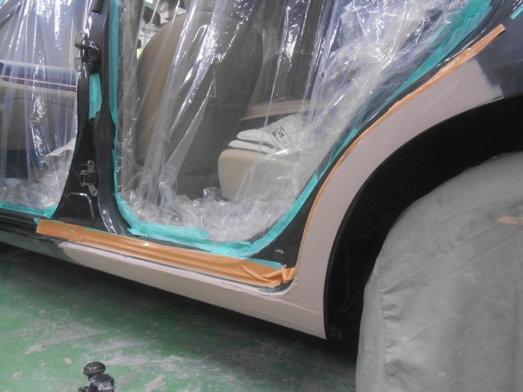 トヨタ・アリオン板金塗装、板金後