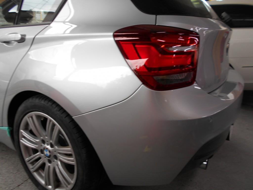 BMW1シリーズ、板金塗装完成
