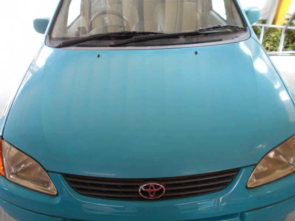 自動車塗装の色あせ、経年劣化