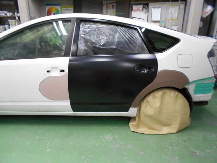 車を擦った時の修理/ドア修理のプロの考え方と助言!