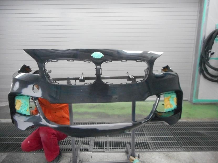 BMW・塗装前のマスキング