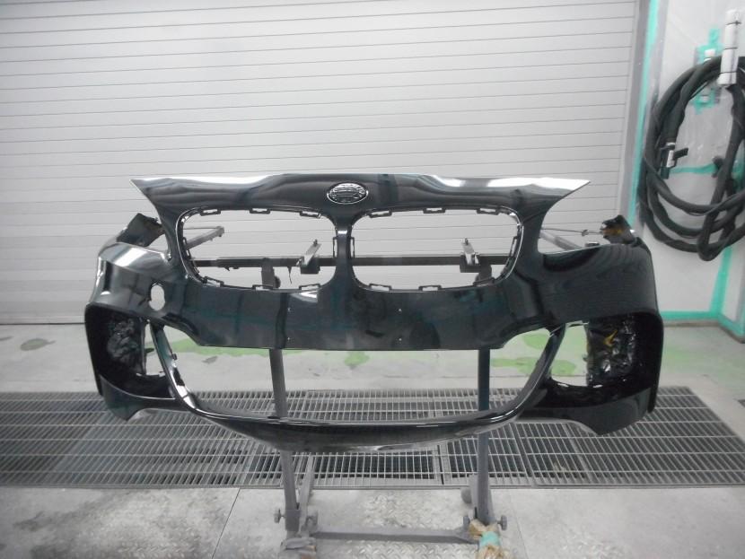 BMW・バンパー擦り傷・塗装