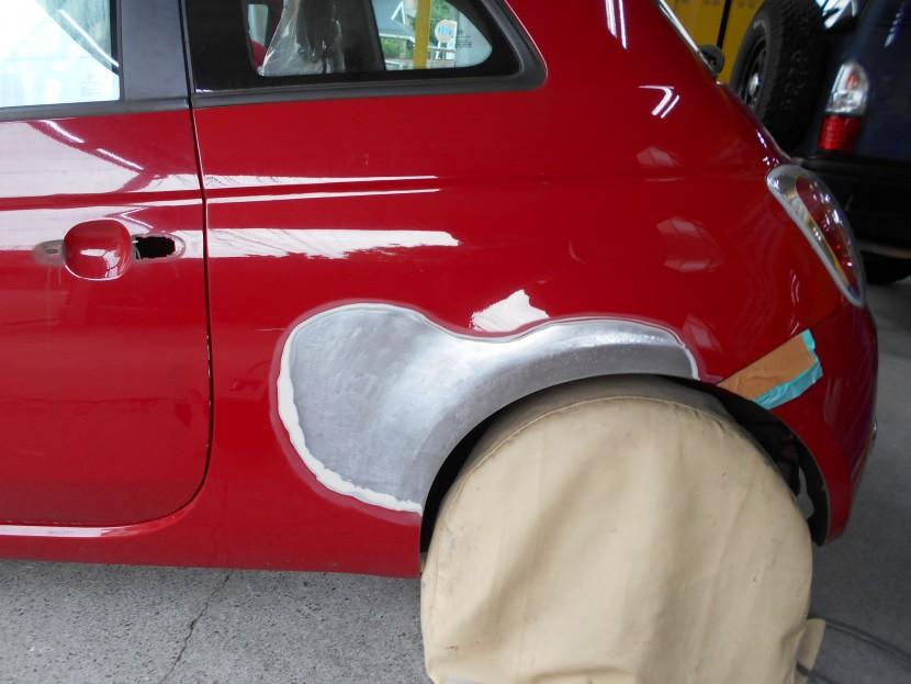車を擦ってしまった!パーツによって凹み方や修理代が違う理由