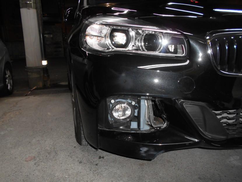 BMW・バンパー擦り傷