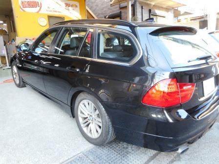 BMW、保険修理、修理完成