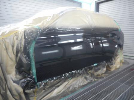 BMW、擦った修理、塗装