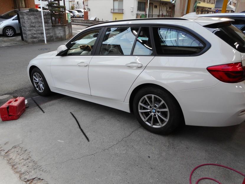 BMW板金塗装・完成