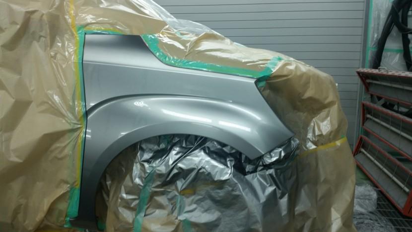 バンパー、フェンダー板金塗装、フェンダー塗装