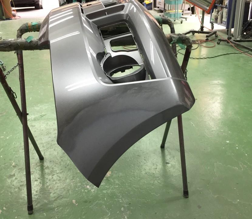 バンパー、フェンダー板金塗装、バンパー下地処理
