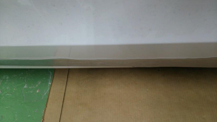 アウディA5板金塗装、フロントドア板金修理