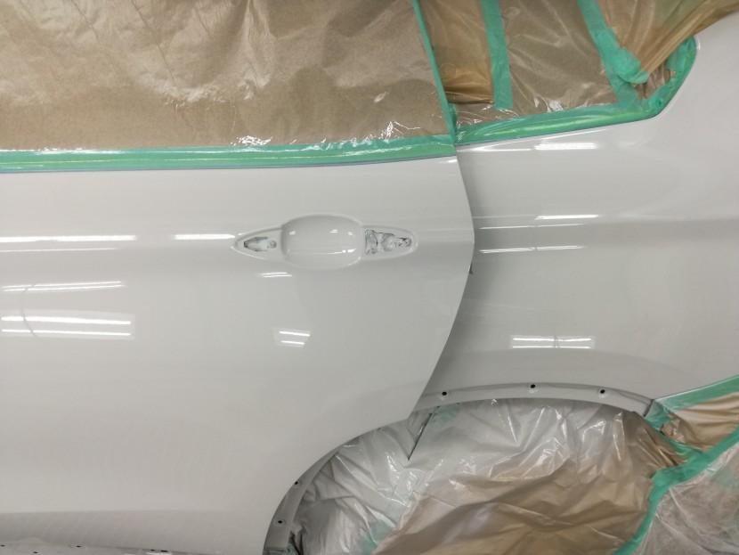 BMW・X1、塗装2