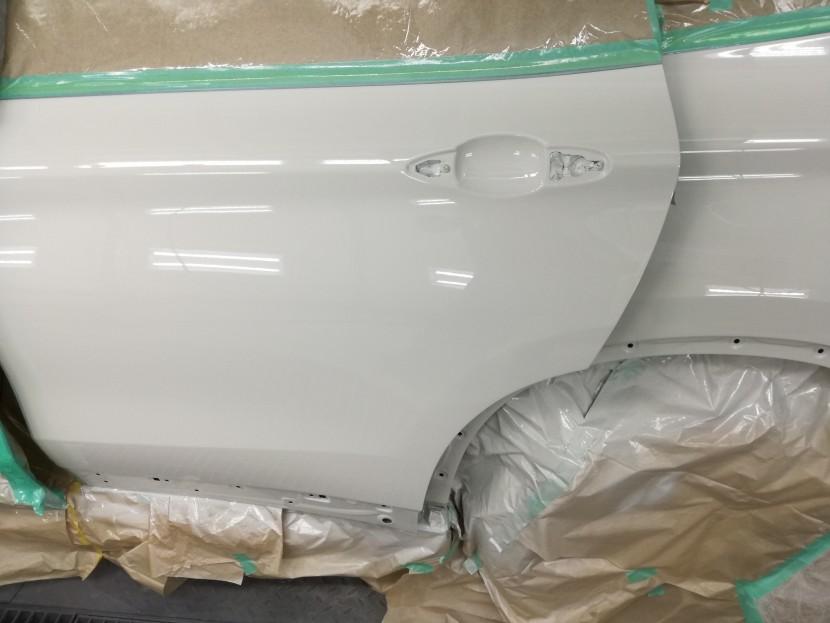 BMW・X1、塗装