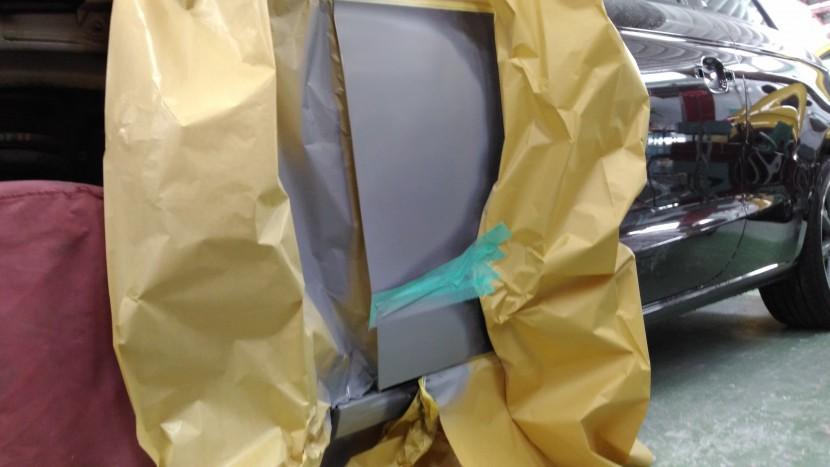 アウディA1ドア、サフェーサー塗装