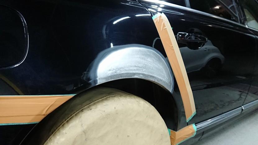 ボルボ板金作業工程