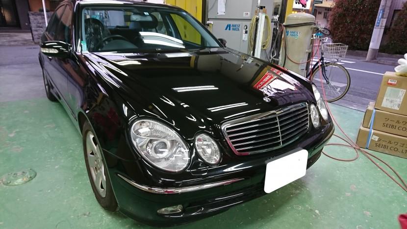 ベンツ前まわりの劣化修理~ボンネットとヘッドランプで車の価値はグンと変わる!