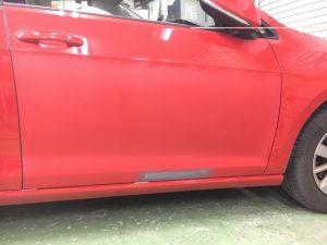 車のプレスラインを使ったプロの板金修理方法【永久保証ができる訳】