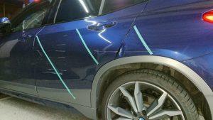BMW・X2価値を下げない板金修理!お客様目線で出来る事。