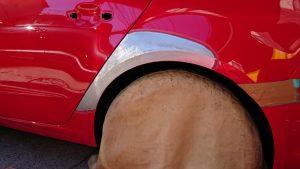 アウディA3/大きなへこみを板金修理、ディーラーでは交換で事故車になるケース